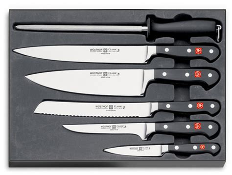 zwilling kitchen knives wusthof 6 chef 39 s knife set 9751