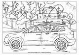 Colouring Trip Coloring Pages Road Cars Going Campervan Trips Disney Summer Worksheets Esl Transport Travel Printable Find Holidays Tent Sketch sketch template