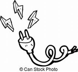 electric plug vector clipart eps images 10019 electric With electric power plug with red wire royalty free stock images image