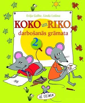 Zvaigzne ABC - Koko un Riko darbošanās grāmata, 2. Ar uzlīmēm