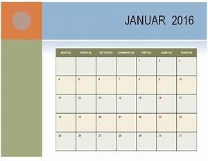 Feiertage Berechnen : monatskalender elegant 2016 ohne feiertage office ~ Themetempest.com Abrechnung