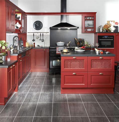 meuble cuisine cuisinella les cuisines pré montées de lapeyre inspiration cuisine