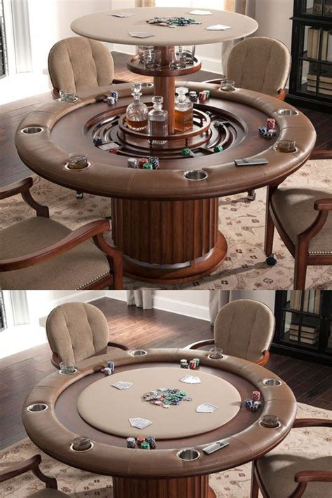 ultimate poker table bars  home man cave garage man cave