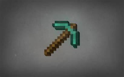 Minecraft Pickaxe Questions Diamonds Desktop