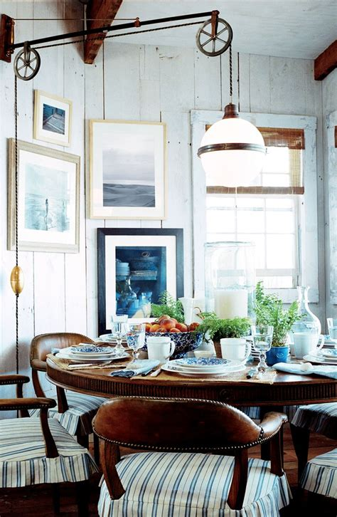 ralph home decor casual cottage breakfast with antique globe pendant