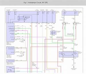 93 Sable Headlight Wiring Diagram