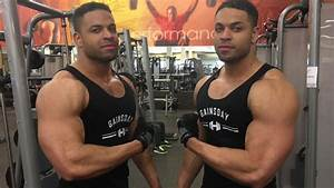 Bodybuilding Chest Focused Workout  Hodgetwins Androsta