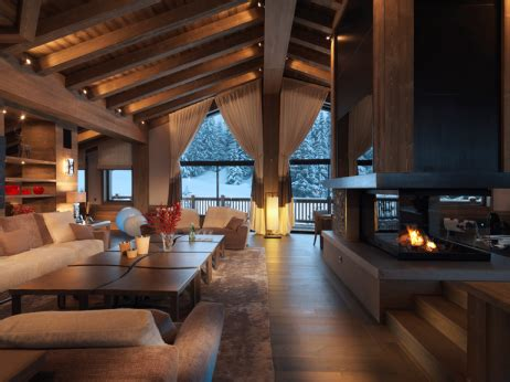 chambre chalet de luxe where billionaires go to ski elite traveler