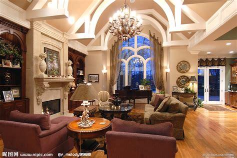 古典欧式客厅摄影图 室内摄影 建筑园林 摄影图库 昵图网nipic