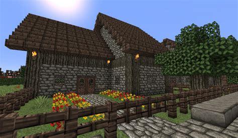 medieval medium house minecraft project