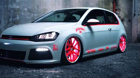 vw golf 7 tuning vw golf 7 2013 light tuning showcar