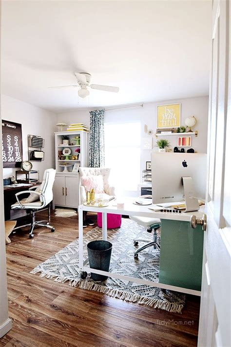decorating  shared home office tidymom