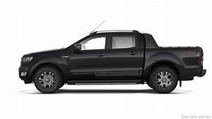 Ford Ranger WildTrak in Limited-edition New Jet Black ...