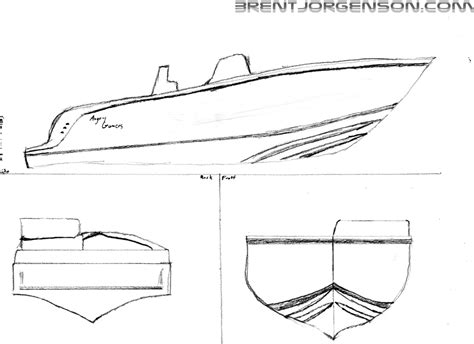 How To Draw A Speedboat Easy by Simple Fishing Boat Drawing Www Imgkid The Image