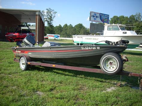 Fisher Marine Boats by 1989 Fisher Marine Sv18 Gt 18 Bass Boat Used Average
