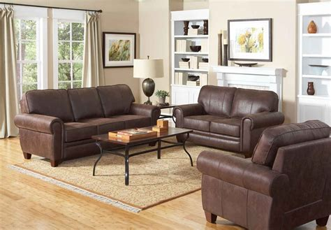 coaster bentley living room set brown 504201 livset at