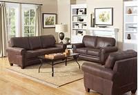 family room furniture Coaster Bentley Living Room Set - Brown 504201-LivSet at ...