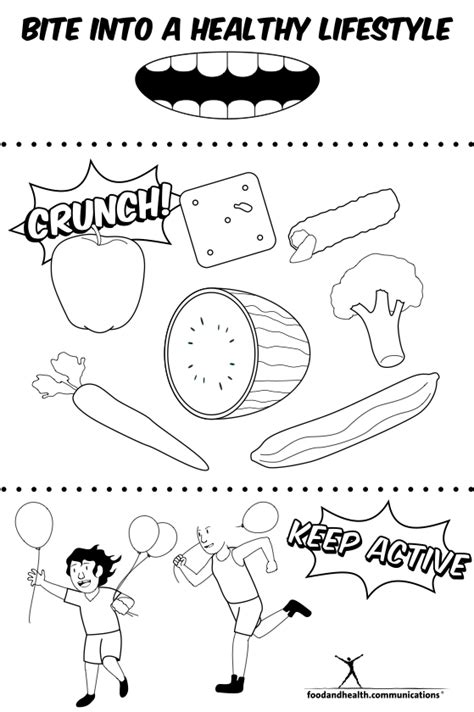 national nutrition month coloring pages bltidm