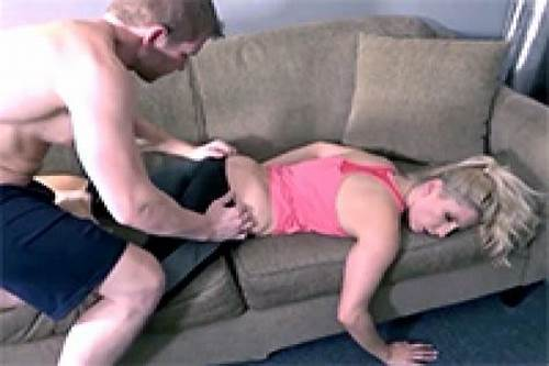 Stepdaddy Taking Step Nunky While She Slee #Sleep #Cum #On #Face