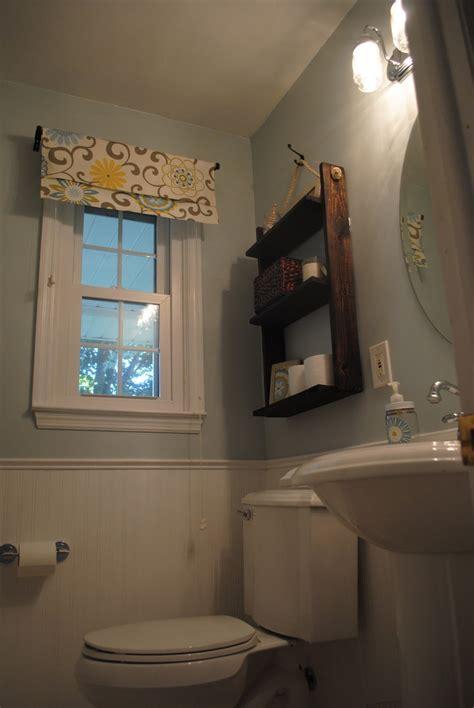 reveal  small bathroom makeover