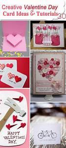 30 Creative Valentine Day Card Ideas & Tutorials - Hative