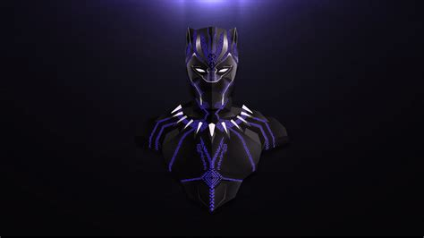 Wallpaper Black Panther Avengers Infinity War Marvel