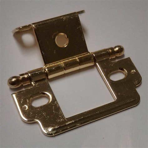 amerock hinge parts amerock full inset ball tip hinge polished brass sold each