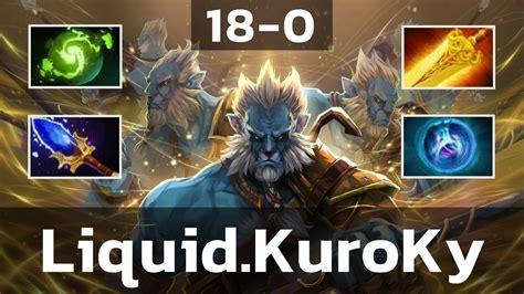 liquid kuroky phantom lancer 0 pro mmr gameplay dota 2 youtube