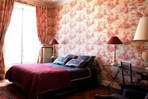 toile pour chambre décoration chambre toile de jouy