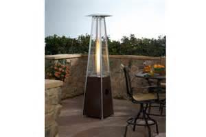 az glass tube pyramid patio heater gadgets 4 guys