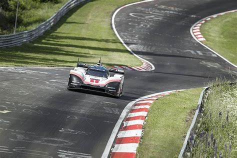 Nuremberg Track Record by Porsche Smashes Bellof S Nordschleife Record With