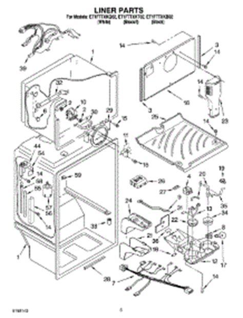 parts  whirlpool etfttxkt refrigerator appliancepartsproscom