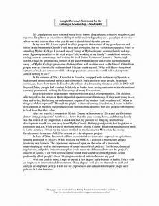personal statement examples for university undergraduate