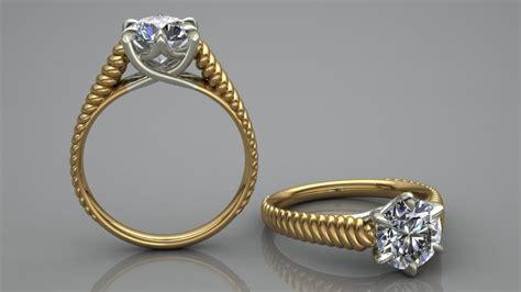 Top Trend In Women's Diamond Ring Design