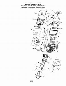 116 28614801 Kenmore Canister Vacuum Cleaner Manual