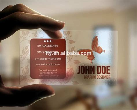 Thick Transparent White Printed Business Card With Qr Code Order Your Business Cards Online Matte Samples Creator Uk Prices Id Jukebox Staples Cost Johannesburg