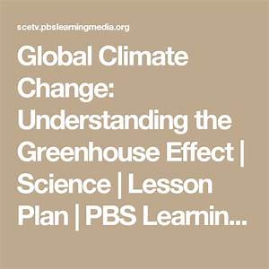 Global Climate Change  Understanding The Greenhouse Effect