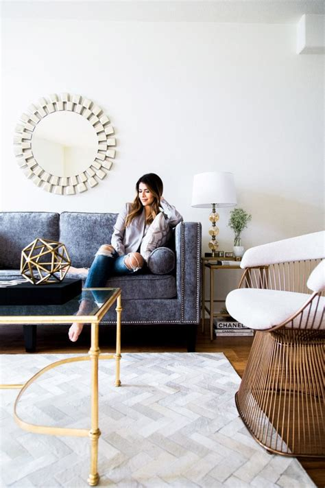 chic  glam living room  girl  panama