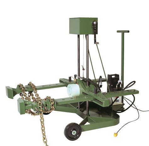 wheel mount units industrial pulley puller