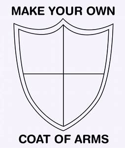 make your own coat of arms template 28 images 23 With make your own coat of arms template