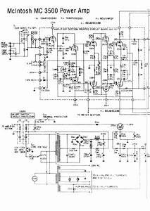 Mcintosh Mc3500 Sch Service Manual Download  Schematics