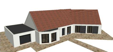 plan maison gratuit plain pied 3 chambres p 19 nouveaux modele rdc r 1 r combles maisons bois