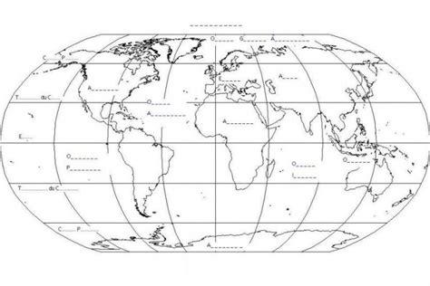 Carte Du Monde à Photocopier by Carte Du Monde Vierge Avec Les Lignes Imaginaires My
