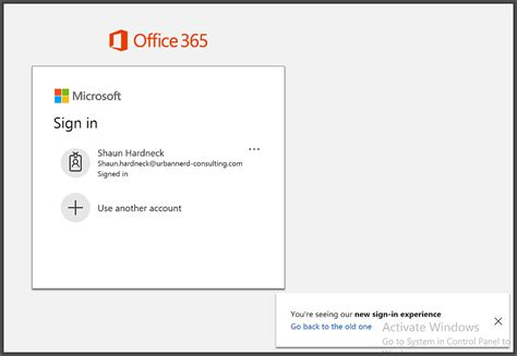 Office 365 Outlook Login Portal by New Microsoft Office 365 Sign In Experience