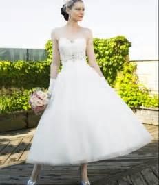 tea length wedding dresses for brides tea length princess wedding dresses for vintage bridal look sang maestro