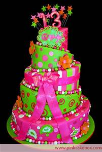 13th Birthday Topsy Turvy Cake » Bat Mitzvah Cakes