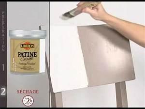 Peinture Effet Patiné : peinture meubles cuisine patine cuisine de lib ron youtube ~ Melissatoandfro.com Idées de Décoration