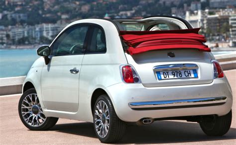 2012 Fiat 500c Lounge by 2012 Fiat S 500c Lounge Cabrio High Value Small Car