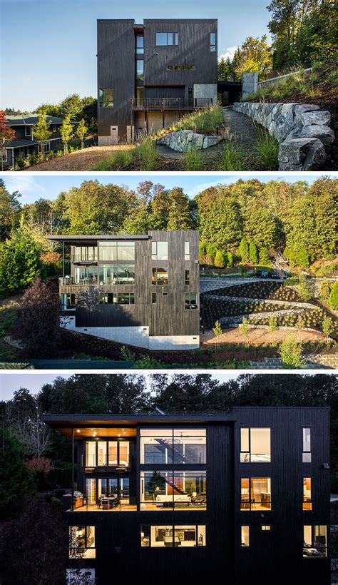 This New House Was Designed For Life On A Steep Hillside