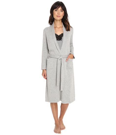 sweater robe by ralph sweater knit ballet robe in gray lyst